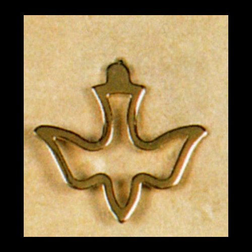 Gold-Plated Holy Spirit Lapel Pin. (Carded)