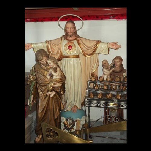 "Antique Crucifix 36"" (91.5 cm)"