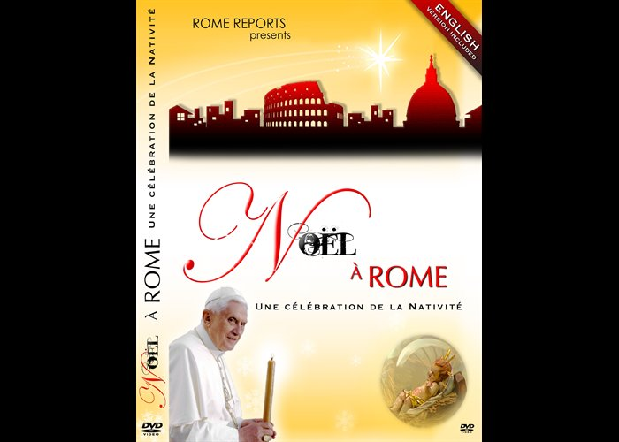 DVD Christmas in Rome, a Nativity Celebration