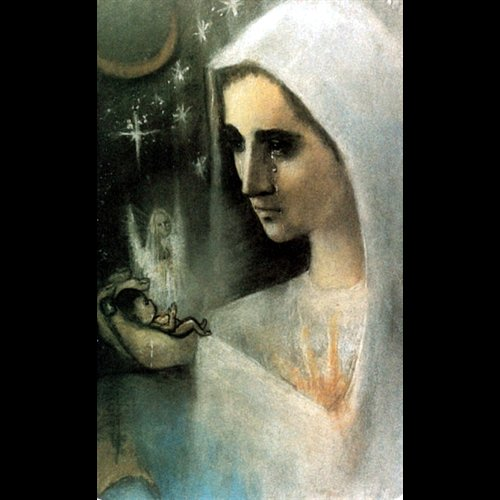 "Magnetic Card Pro-Life / Mary, 2 1 / 8"" x 3 3 / 8"""