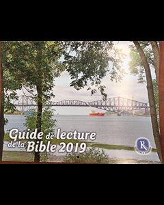Calendrier Biblique.Calendrier Guide De Lecture De La Bible 2020