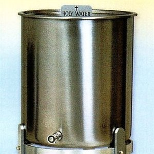 Holy Water Tank 5 Gallon 11 H X 12 5 D Stainless Steel